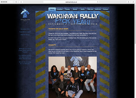 Wakinyan Rally website