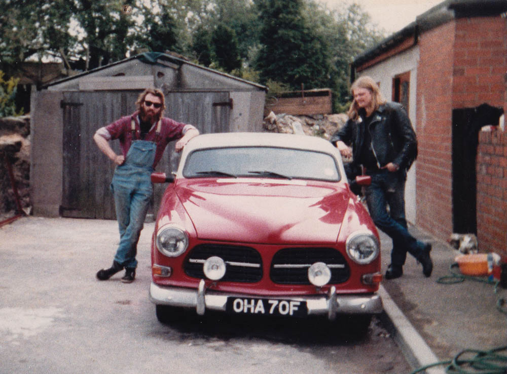 Paul and chopped Volvo 123GT